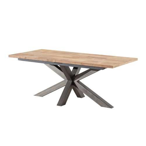 Stół Vince 200x100x79 black&natural