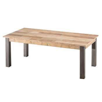Stół rozkładany Berton 200x100x76 black&natural