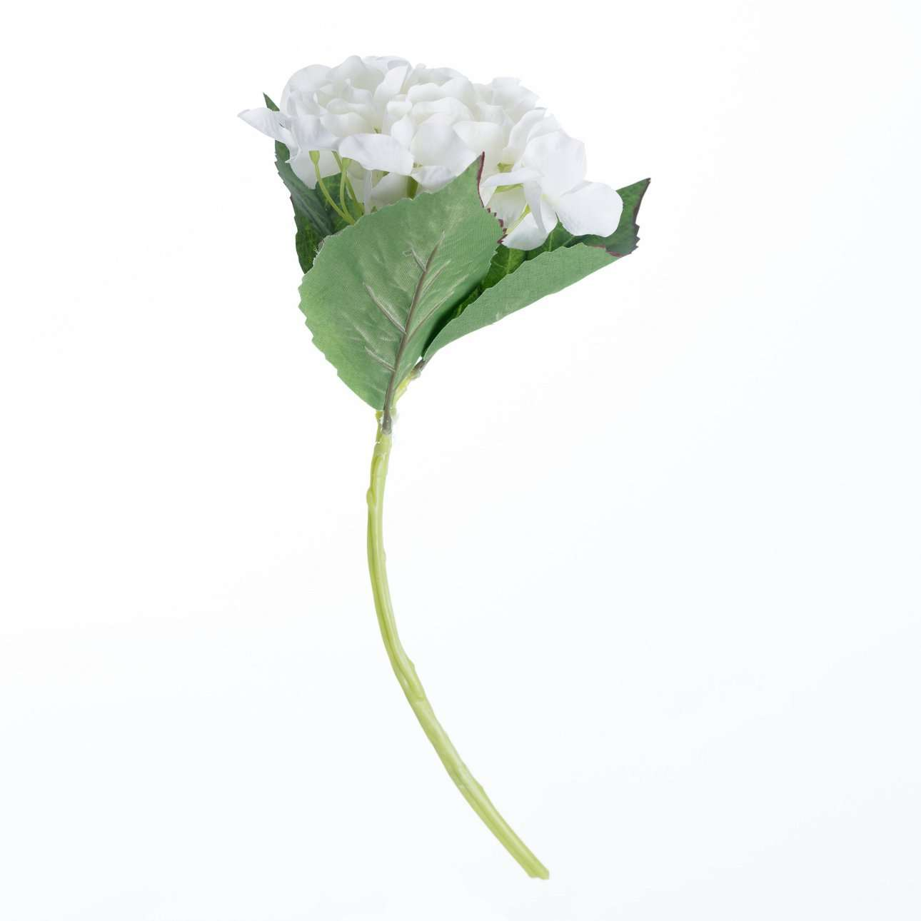 Artificial White Hydrangea H 36 cm