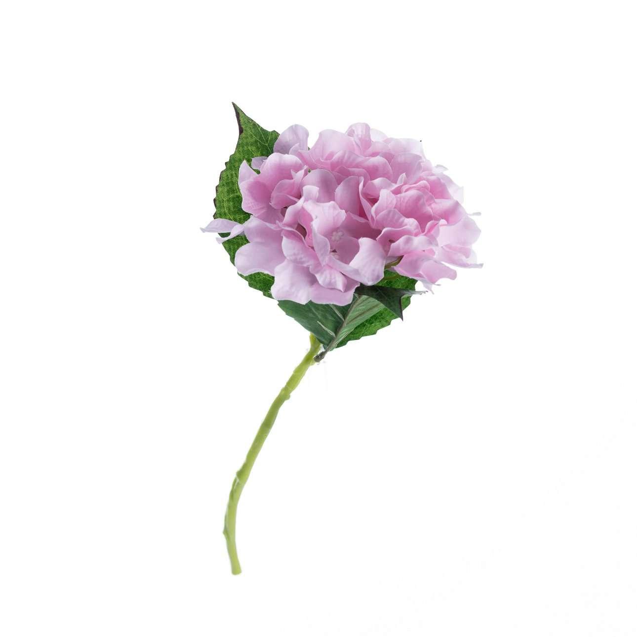 Artificial Pink Hydrangea H 36 cm