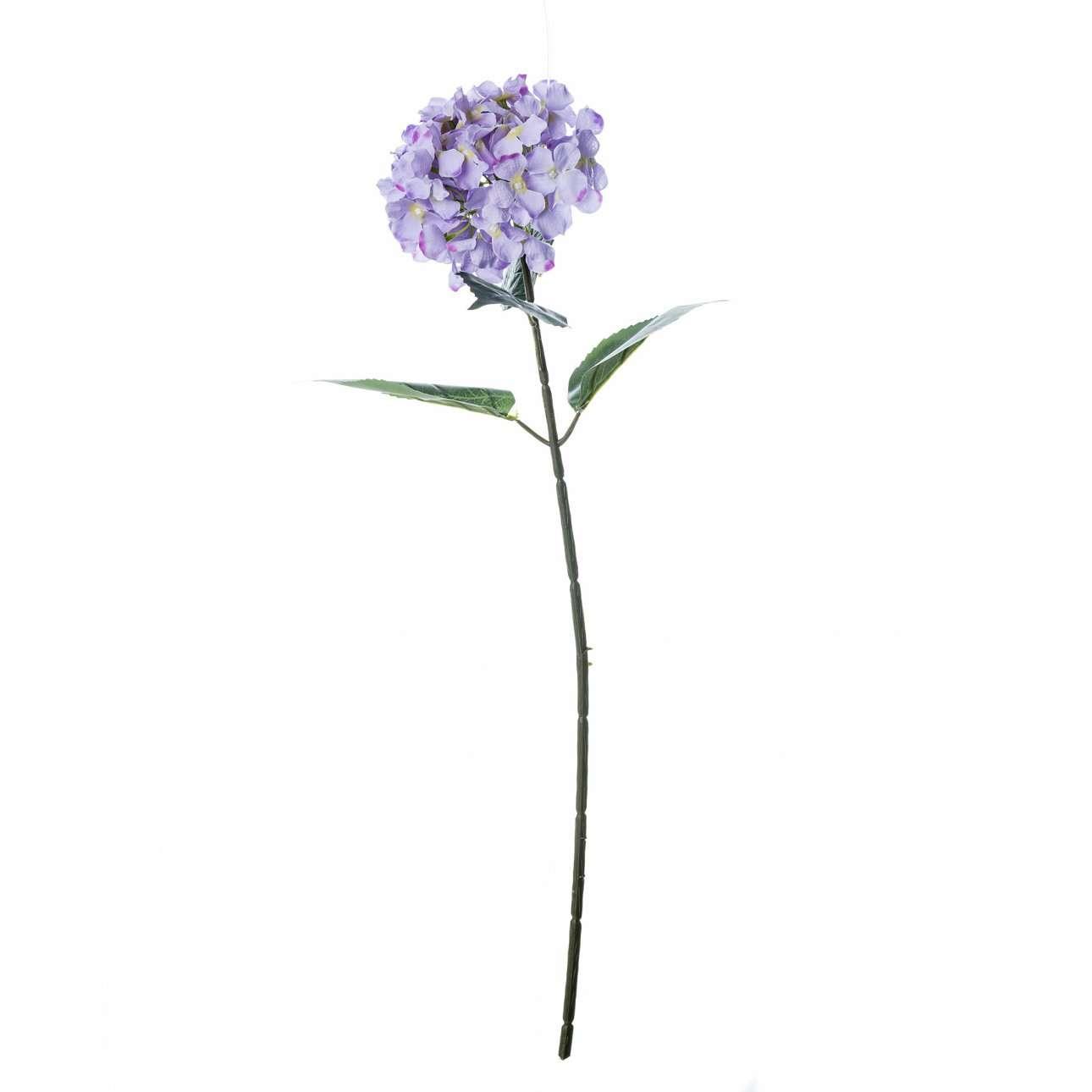 Artificial Lilac Hydrangea Flower H 78 cm