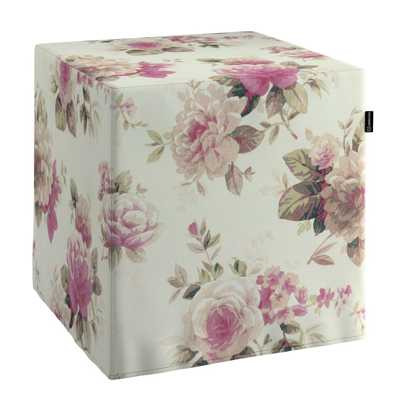 Sedák Cube - kostka pevná 40x40x40 v kolekci Mirella, látka: 141-07