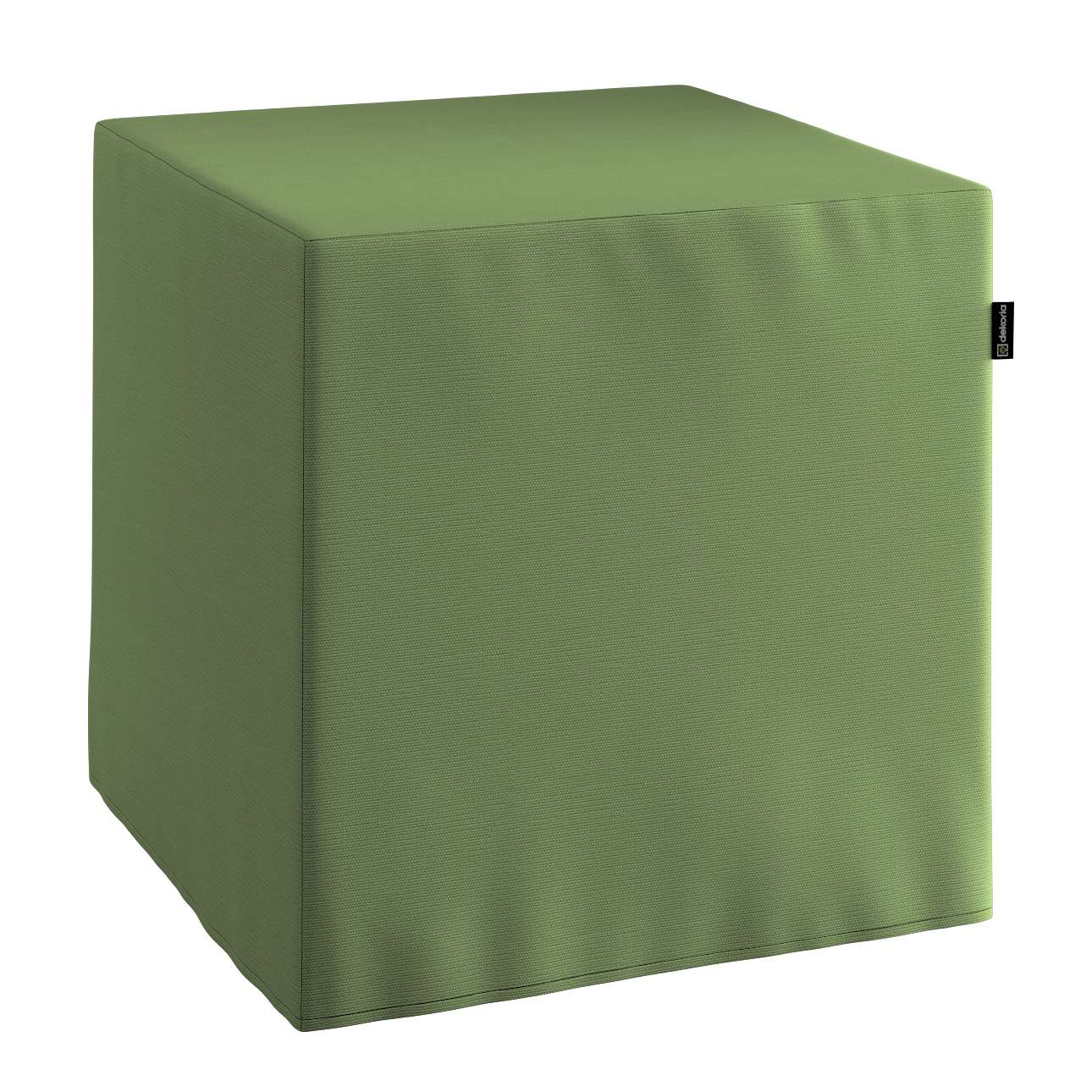Harter Sitzwürfel 40 x 40 x 40 cm von der Kollektion Cotton Panama, Stoff: 702-06