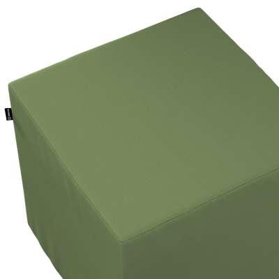 Pufas 702-06 tamsiai žalia (alyvuogių spalvos) Kolekcija Cotton Panama