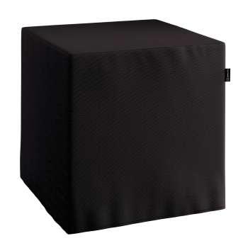 Taburetka tvrdá, kocka 40 × 40 × 40 cm V kolekcii Cotton Panama, tkanina: 702-08