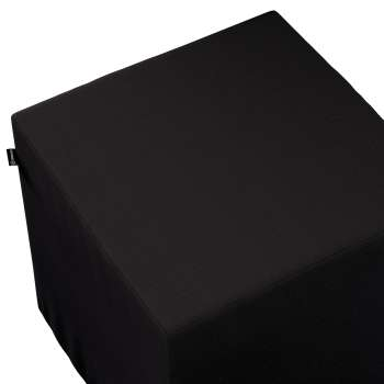 Taburetka tvrdá, kocka V kolekcii Cotton Panama, tkanina: 702-08