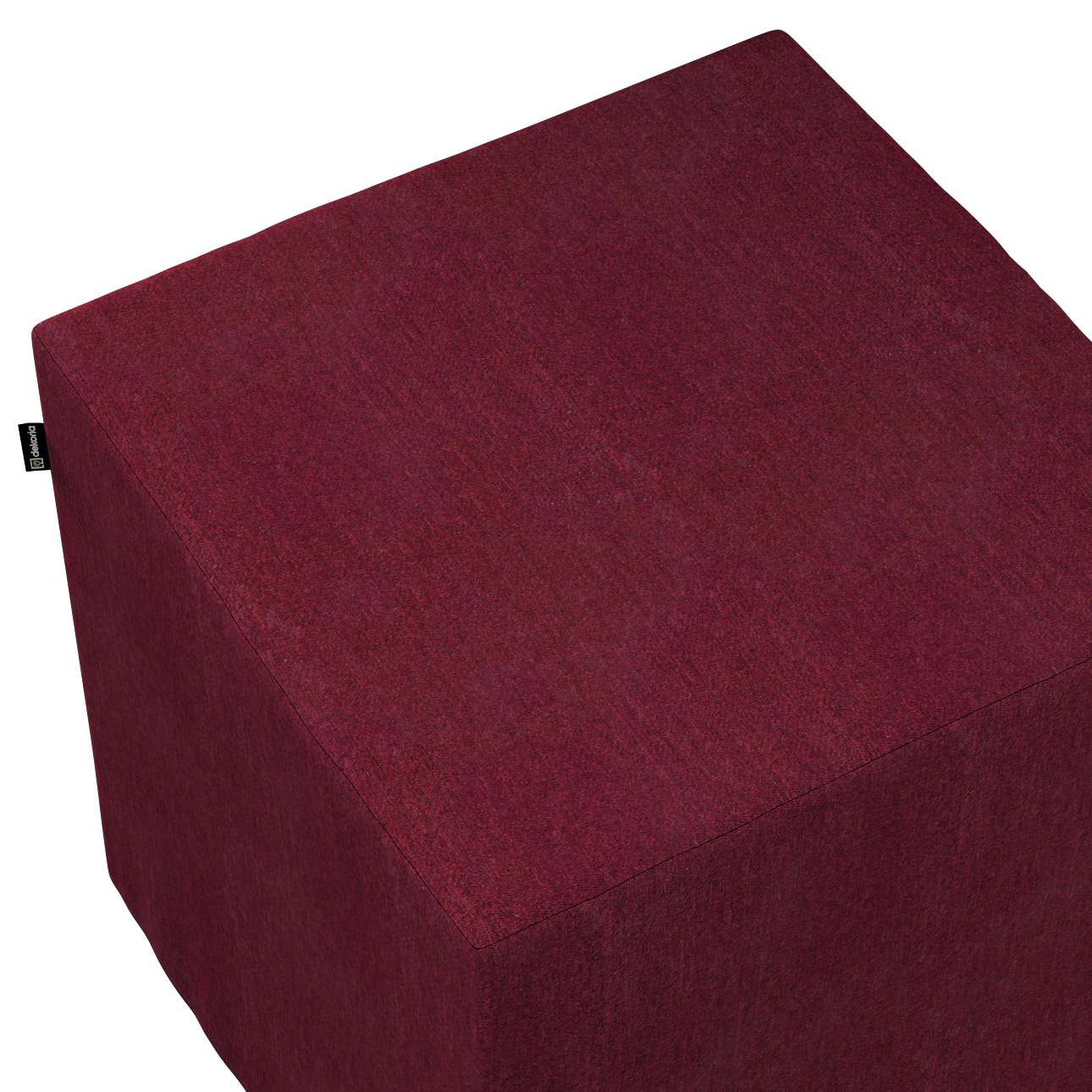 Pufa kostka w kolekcji Chenille, tkanina: 702-19