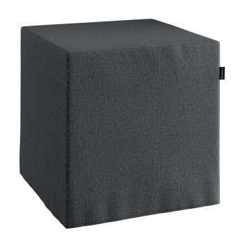 Harter Sitzwürfel 40 x 40 x 40 cm von der Kollektion Chenille , Stoff: 702-20