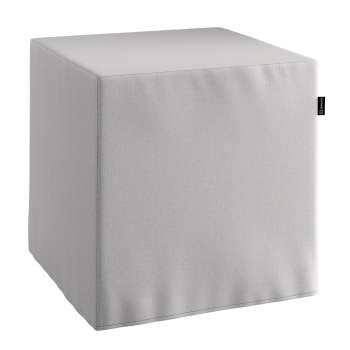 Siddepuf 40 × 40 × 40 cm fra kollektionen Chenille, Stof: 702-23