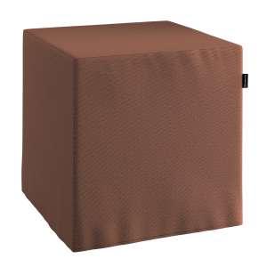 Pufa kostka twarda 40x40x40 cm w kolekcji Loneta, tkanina: 133-09
