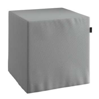 Taburetka tvrdá, kocka V kolekcii Loneta, tkanina: 133-24