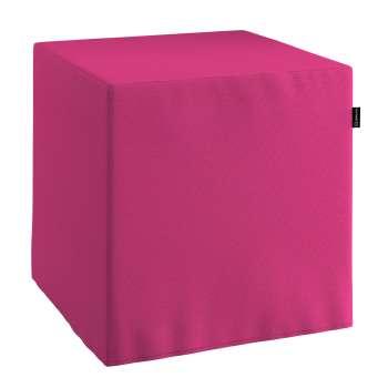 Taburetka tvrdá, kocka 40 × 40 × 40 cm V kolekcii Loneta, tkanina: 133-60
