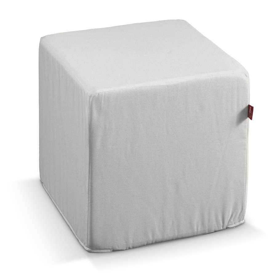 Harter Sitzwürfel 40 x 40 x 40 cm von der Kollektion Etna, Stoff: 705-01