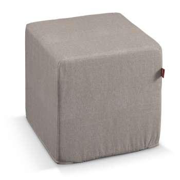 Sedák Cube - kostka pevná 40x40x40 v kolekci Etna, látka: 705-09