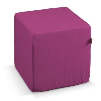 Harter Sitzwürfel 40 x 40 x 40 cm von der Kollektion Etna, Stoff: 705-23