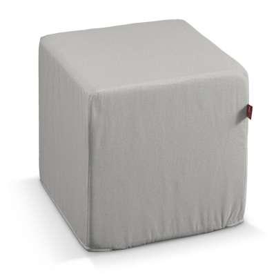 Sedák Cube - kostka pevná 40x40x40 v kolekci Etna, látka: 705-90