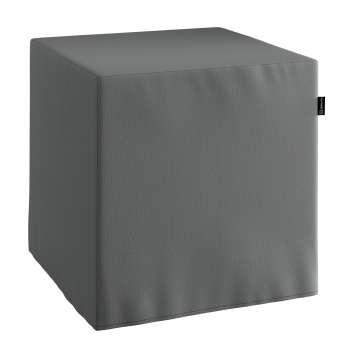 Sedák kostka - pevná 40 x 40 x 40 cm v kolekci Quadro, látka: 136-14