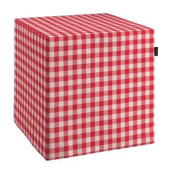 Sedák kostka - pevná 40x40x40 40 x 40 x 40 cm v kolekci Quadro, látka: 136-16