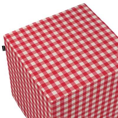 Sedák Cube - kostka pevná 40x40x40 v kolekci Quadro, látka: 136-16