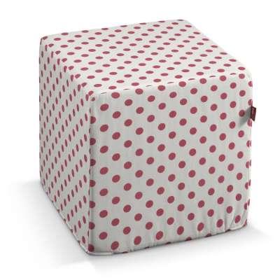 Taburetka tvrdá, kocka V kolekcii Little World, tkanina: 137-70