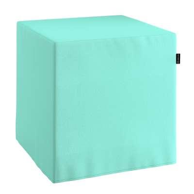 Taburetka tvrdá, kocka V kolekcii Loneta, tkanina: 133-32
