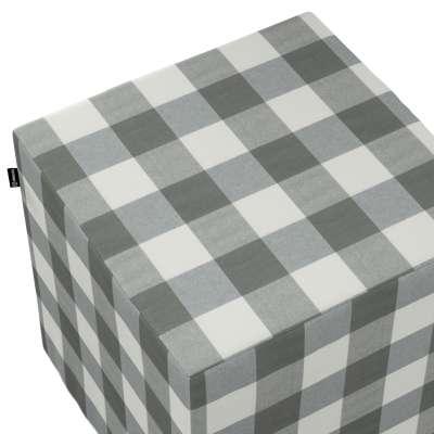 Pufa kostka w kolekcji Quadro, tkanina: 136-13