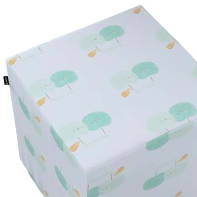 Sedák Cube - kostka pevná 40x40x40 v kolekci Little World, látka: 151-02