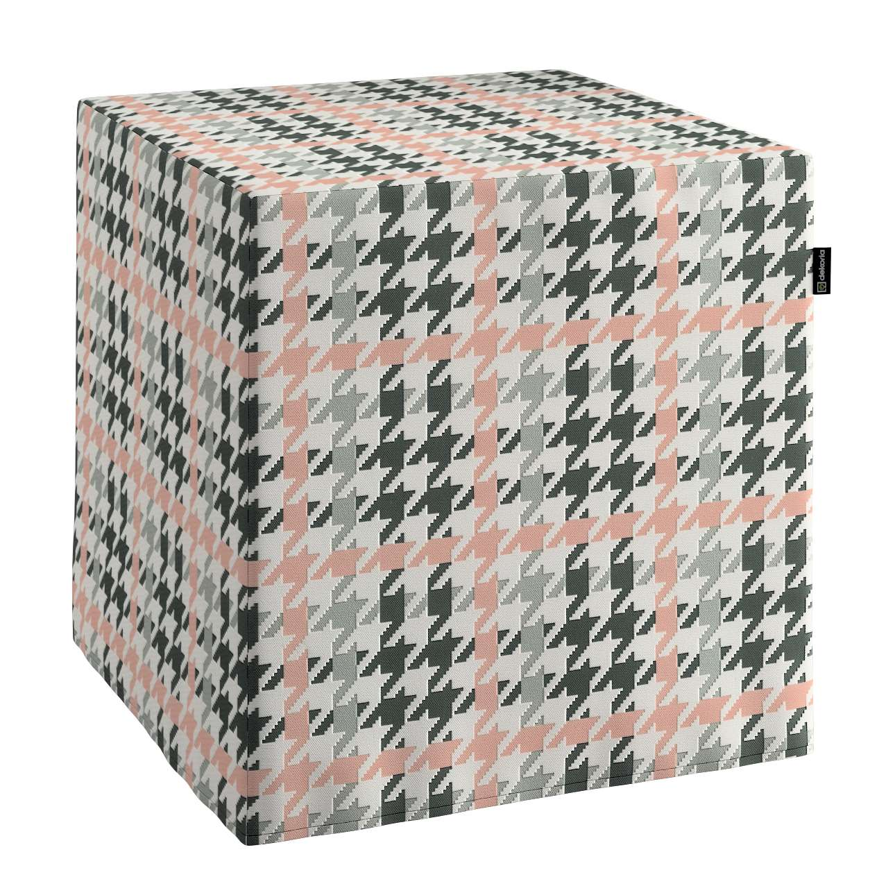 Taburetka tvrdá, kocka V kolekcii Výpredaj, tkanina: 137-75