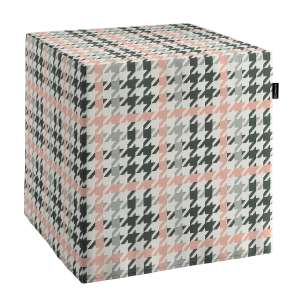 Harter Sitzwürfel 40 x 40 x 40 cm von der Kollektion Brooklyn, Stoff: 137-75