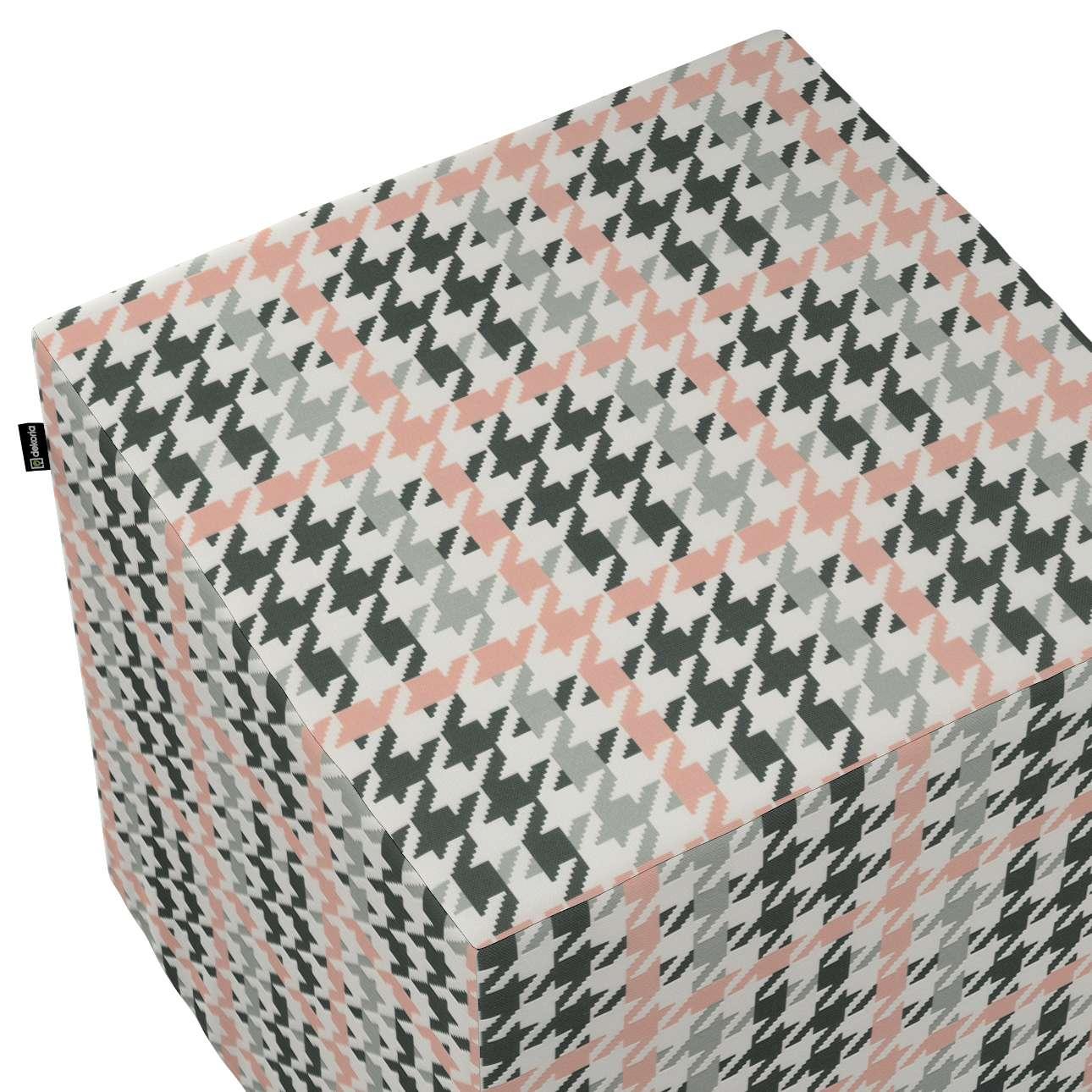 Pufa kostka w kolekcji Wyprzedaż do -50%, tkanina: 137-75