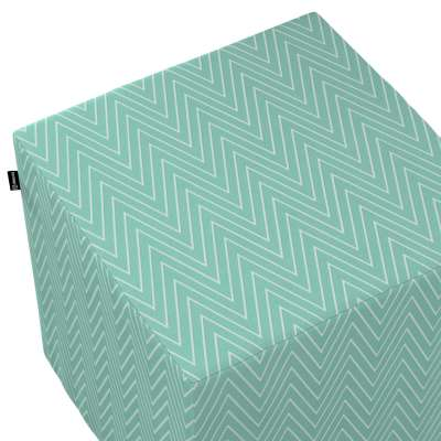 Taburetka tvrdá, kocka V kolekcii Comics, tkanina: 137-90