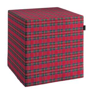 Harter Sitzwürfel 40 x 40 x 40 cm von der Kollektion Bristol, Stoff: 126-29