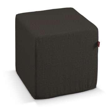 Sedák Cube - kostka pevná 40x40x40 v kolekci Vintage, látka: 702-36