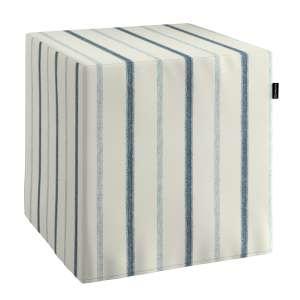 Harter Sitzwürfel 40 x 40 x 40 cm von der Kollektion Avinon, Stoff: 129-66