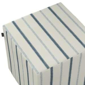Pufa kostka twarda 40x40x40 cm w kolekcji Avinon, tkanina: 129-66