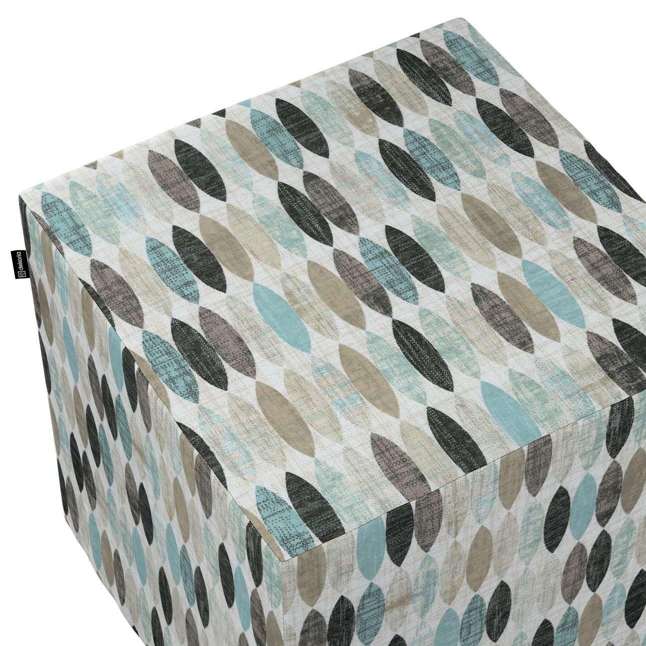 Pufa kostka w kolekcji Modern, tkanina: 141-91