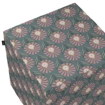 Pufa kostka w kolekcji Gardenia, tkanina: 142-17