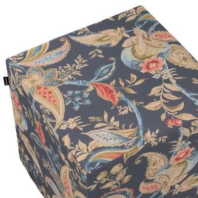 Sittepuff og Fotskammel fra kolleksjonen Gardenia, Stoffets bredde: 142-19