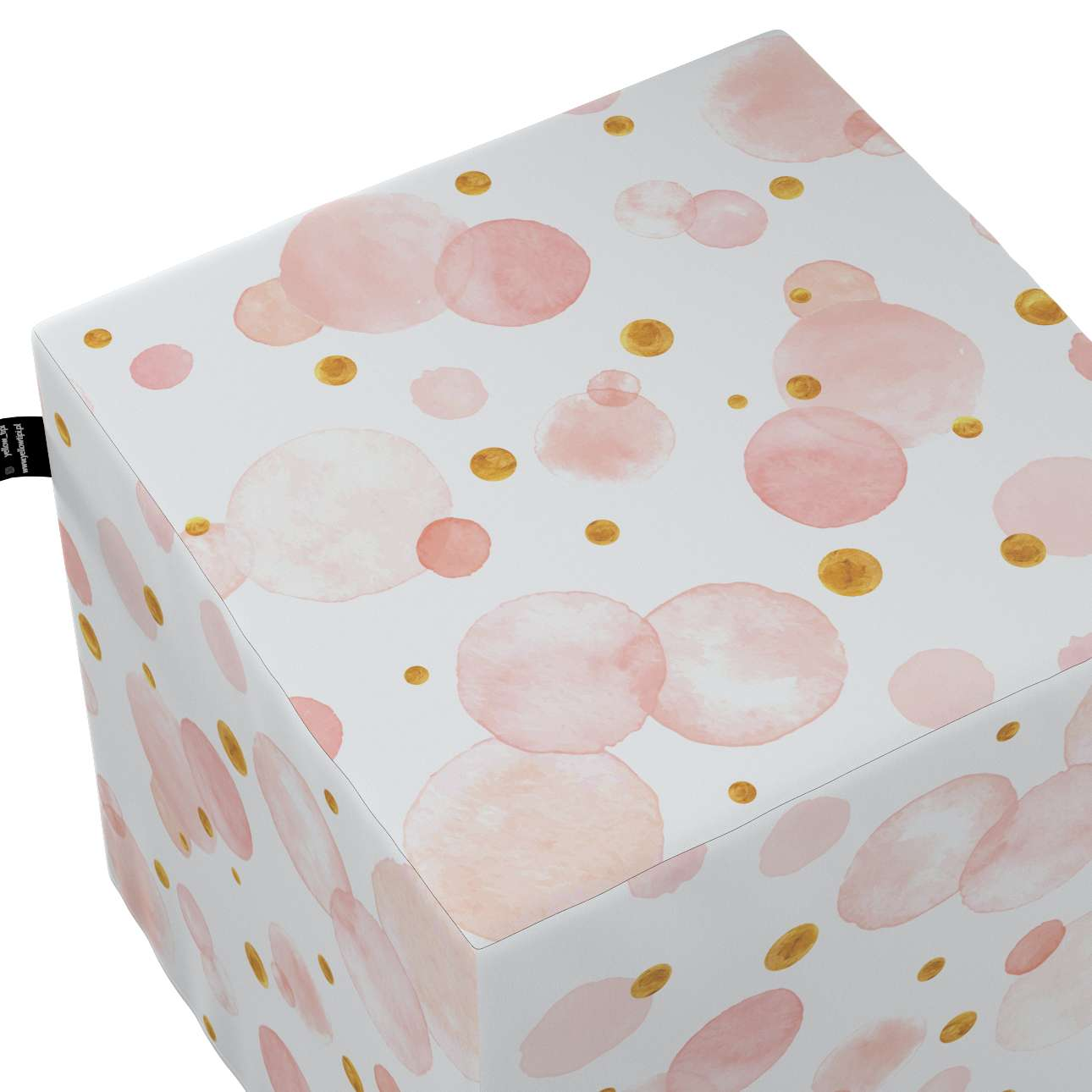 Nano cube pouf in collection Magic Collection, fabric: 500-13
