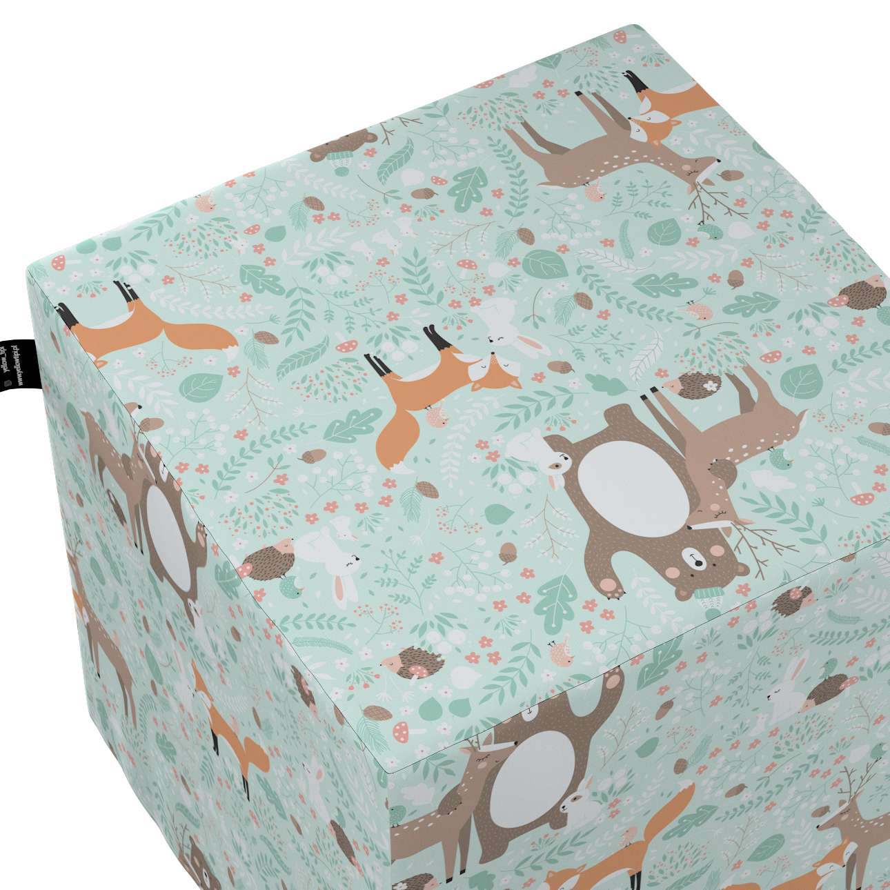 Nano cube pouf in collection Magic Collection, fabric: 500-15