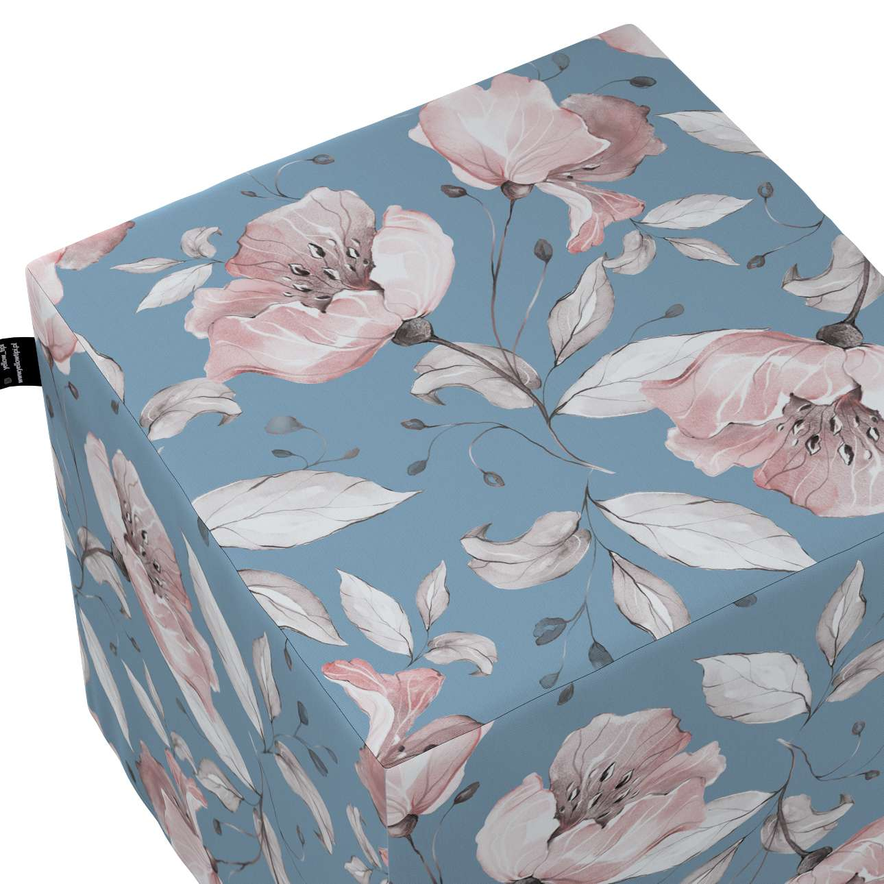 Nano cube pouf in collection Magic Collection, fabric: 500-18