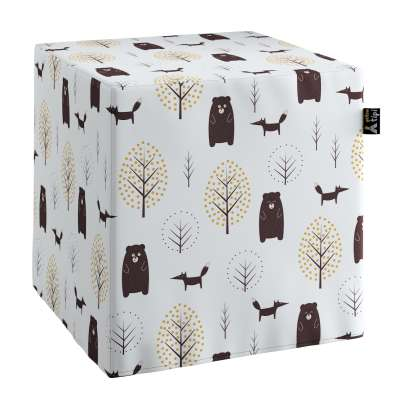Nano cube pouf in collection Magic Collection, fabric: 500-19