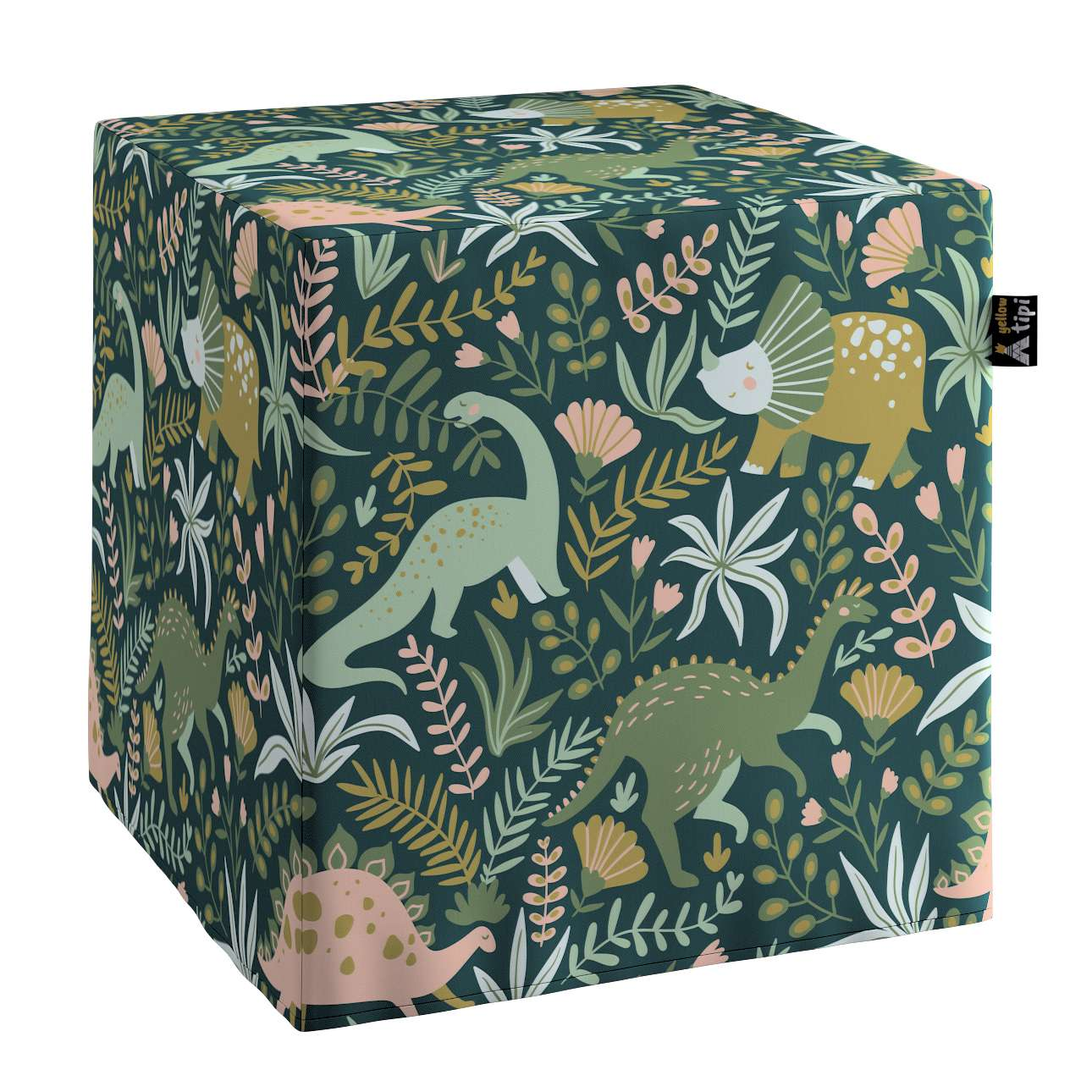 Nano cube pouf in collection Magic Collection, fabric: 500-20