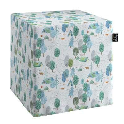 Nano cube pouf in collection Magic Collection, fabric: 500-21