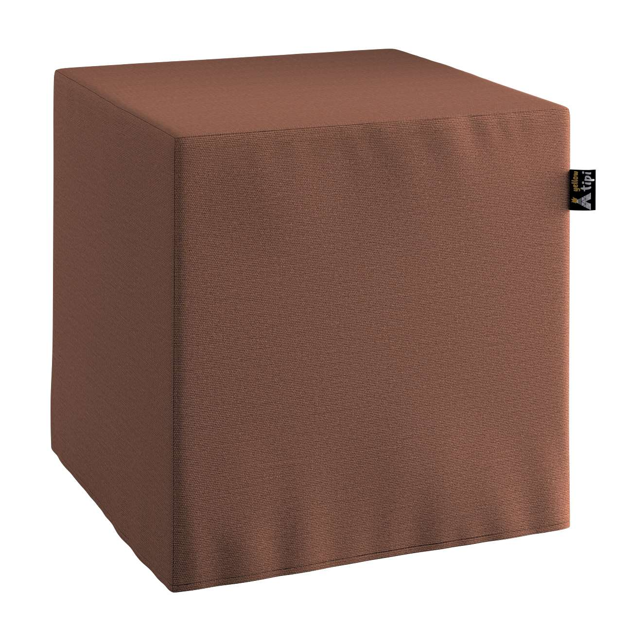 Nano cube pouf in collection Happiness, fabric: 133-09