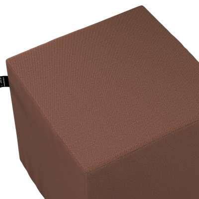 Puf kostka Nano 133-09 brązowy Kolekcja Happiness
