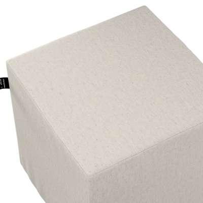 Puf kostka Nano 133-65 šedo-béžová melanž Kolekce Happiness
