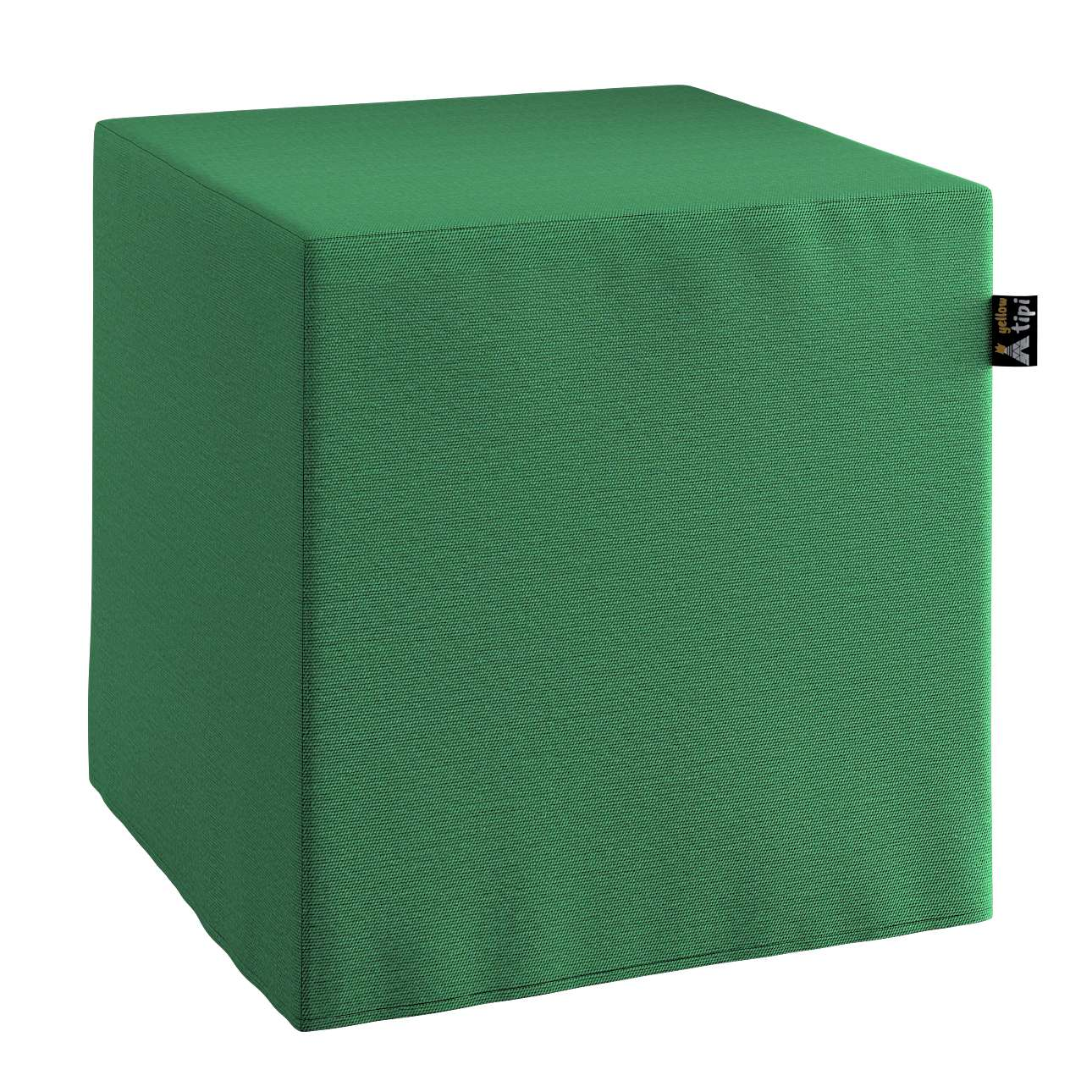 Nano cube pouf in collection Happiness, fabric: 133-18