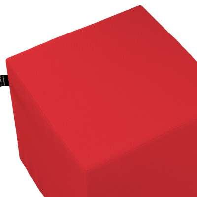 Nano pufas - kubas 133-43 raudona Kolekcija Happiness