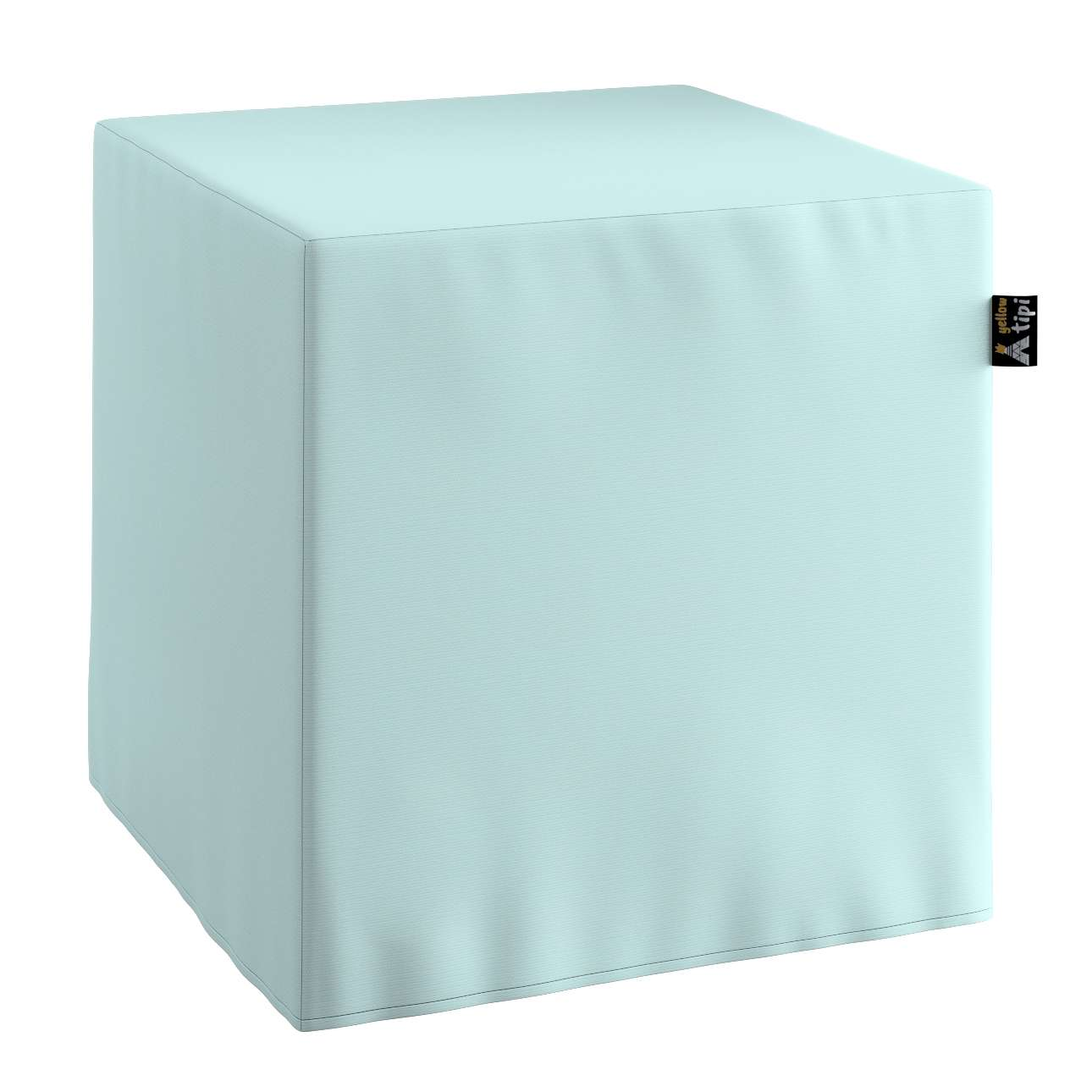 Nano cube pouf in collection Cotton Story, fabric: 702-10